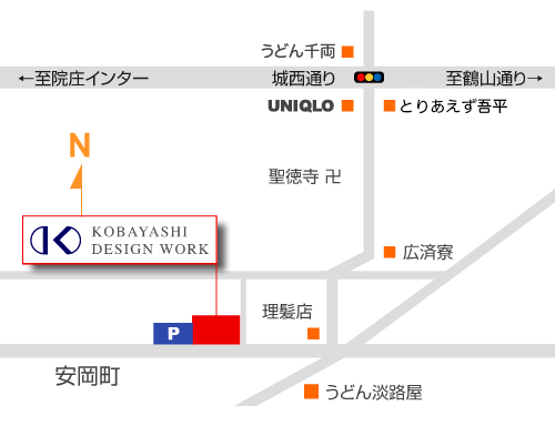 有限会社小林デザインワーク 地図